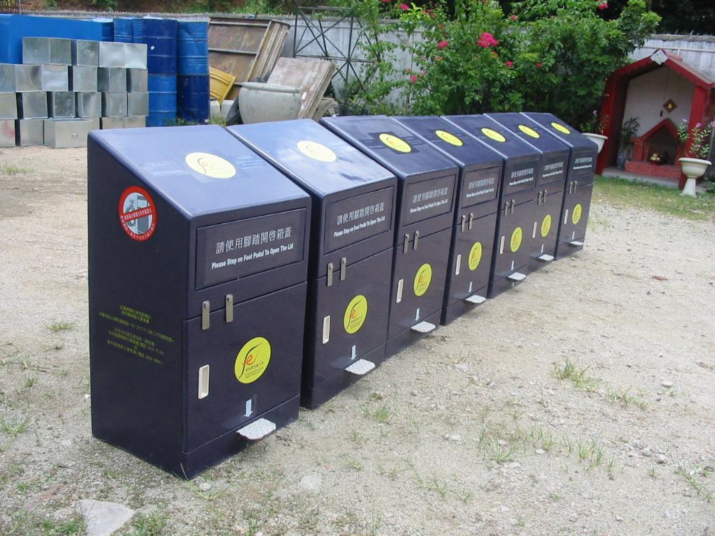 国外公共垃圾桶设计